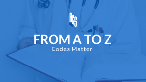 From A to Z Codes Matter