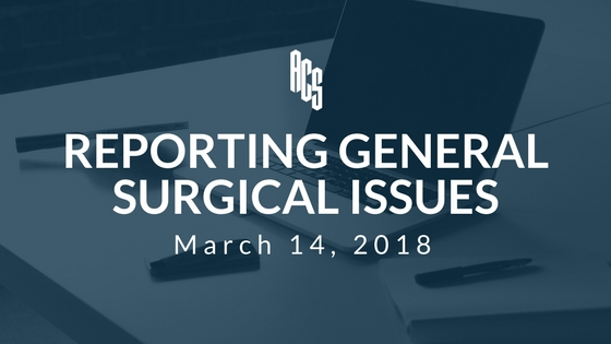 General Surgical Issues