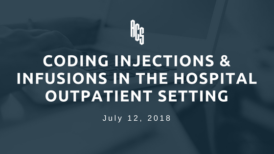 Reporting Injection Infusions